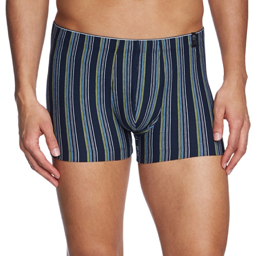 Schiesser - Boxer Shorts, uomo Blu (Blau (Dunkelblau))