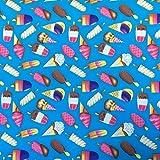 Eis/Lutscher/Pops Fun Druck auf blau Baby Kinder