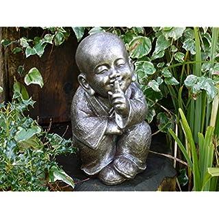 Annibells at Home Large Garden Silent Monk Ornament