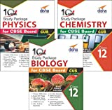 Combo 10 in One Study Package for CBSE Physics, Chemistry & Biology Class 12 with 15 Model Papers