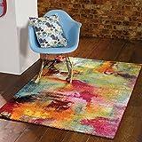 Modern Künstler Teppiche, Helle, ausgefallene Designs Bouden --- 160 x 230 cm, 5 x 7 '1.78 cm 0.76 cm
