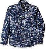 Flying Machine Boys' Shirt (FKSH5108_Nav...