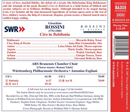 Ciro in Babilonia (Rossini in Wildbad Festival 2004)