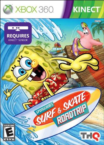 THQ–Spongebob Surf & Skate Roadtrip–Xbox 360 (Für 360 Spongebob Xbox Spiele)