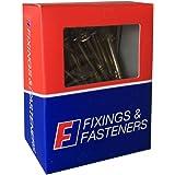 Forgefix Terrasse Vis Pozi ST Green Anti-Corrosion 4.5 x 75 mm Box 200 FORD 4575