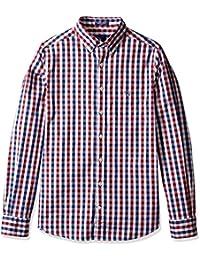 GANT Men's Classic Indigo Gingham Shirt