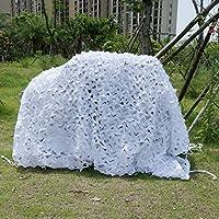 Malla de camuflaje, para cazar, acampar, decoración de hogares y deportes al aire libre, color nieve, 3X3m / 10x10 ft