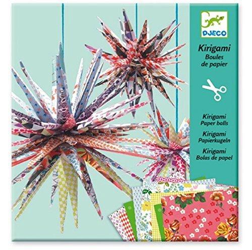 Djeco Kirigami Papierkugeln