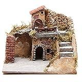 Häuser 20x23x20cm neapolitanische Krippe