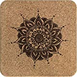 Azeeda Mandala Decorativo Corcho Salvamanteles (TR00006533)