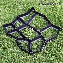 FOREVER SPEED Molde para formar piedras para pavimento de aceras y caminos, 42,5 x 4 cm