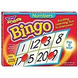 Fun to Know 36333G Zahlen lernen Bingo-Spiele, weiß