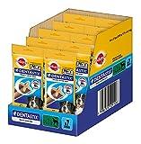 Pedigree DentaStix Hundesnack für große Hunde (25 kg), Zahnpflege-Snack mit Huhn und Rind, 10er Pack (10 x 7 Stück)
