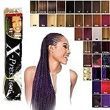 Premium X-pression Ultra Braid Colour 2 (Dark Brown)