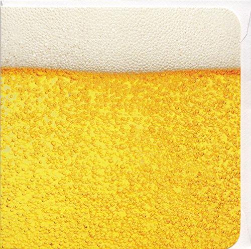 Grußkarte Ein Glas Bier