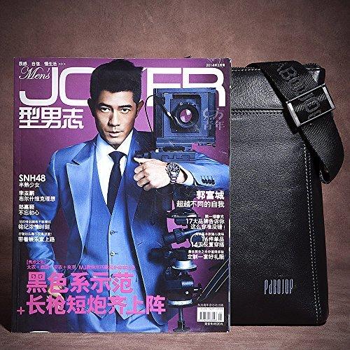 Oneworld Herren Rindleder Messenger Bag Aktentasche Schultertasche Notebooktasche Handtasche Umhängetasche Schultasche Mini Bag 23x25x6cm(BxHxT) Khaki Schwarz
