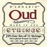 D\'Addario Jeu de 11 cordes pour Oud D\'Addario J95