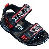 Sandalias de senderismo para niños, sandalias atléticas con puntera abierta, zapatos de verano para playa