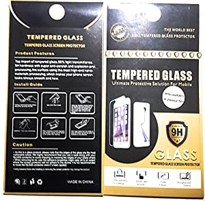 iPhone 6 Tempered Glass Screen Protector [Smooth Beveled Edges] [Anti Fingerprint Coating] - Shatterproof Gorilla Glass for iPhone 6 by Sahara Case