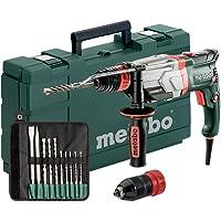 Metabo Multihammer UHEV 2860-2 Quick Set Extrem robust für harten Dauereinsatz - inkl. SDS-plus-Bohrer-/Meißelsatz (10…