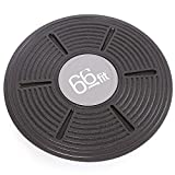 Best Balance Boards - 66fit Wobble Balance Board 36cm - Includes Balance Review