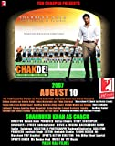 Chak De! India Plakat Movie Poster (11 x 14 Inches - 28cm x 36cm) (2007) Indian