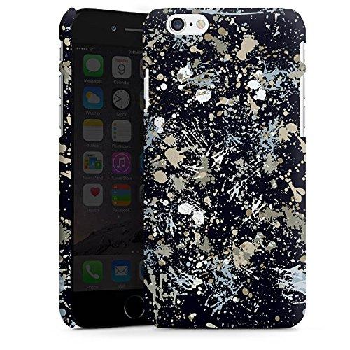 Apple iPhone 5 Housse Étui Silicone Coque Protection Camouflage Taches de couleur Motif Cas Premium mat