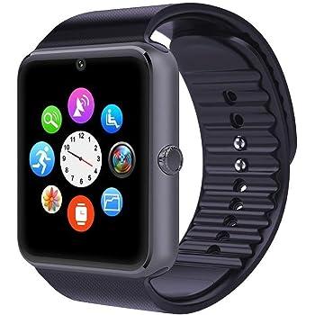 Smartwatch Android iOS Smart Watch Phone Cuello para Hombre y Mujer con SIM Card Slot Reloj