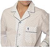 El Búho Nocturno Pijama largo estampado de caballero/hombre - Popelín, 100% algodón - Talla M -...