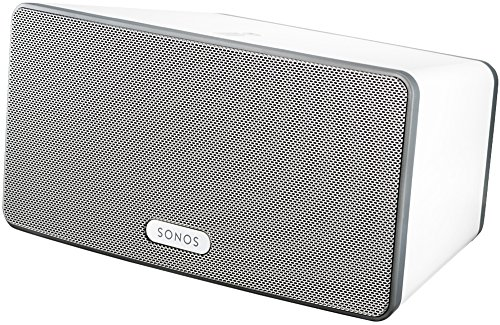 Sonos PLAY:3 I Vielseitiger Multiroom Smart Speaker für Wireless Music Streaming (weiß)