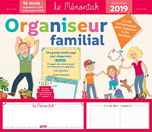Family Organiser memoniak 2018-2019 par Collectif