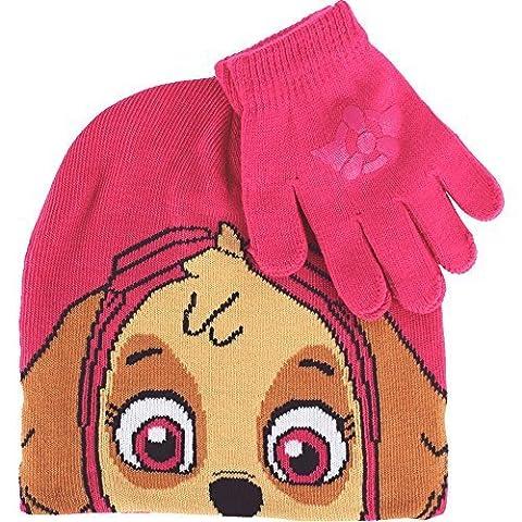 Pink Skye PAW Patrol Thermal Winter Hat & Gloves