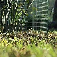 Catral 55010022 - Malla cuadrada galvanizada, 100 x 500 x 4 cm, color verde