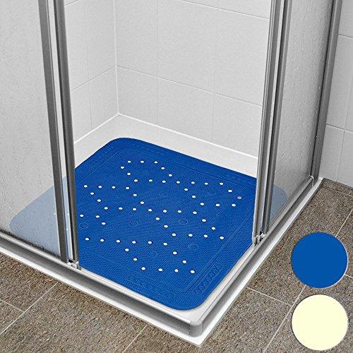 Duschmatte Duscheinlage Duschwanneneinlage - mit rutschfesten Saugnäpfen - Antirutsch - beige - Farbwahl