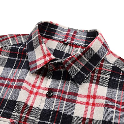 YesFashion Damen Bluse Hemd Langarmhemd Shirt T-Shirt Tops Oberteil Weiß