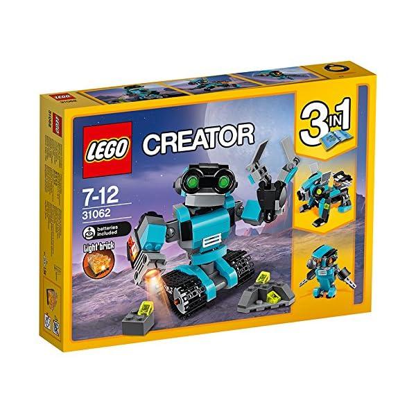 61L0bDJB7OL. SS600  - LEGO Creator - Robot Explorador (31062)