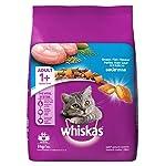 Whiskas Adult (+1 Year) Dry Cat Food Food, Ocean Fish Flavour, 3kg Pack