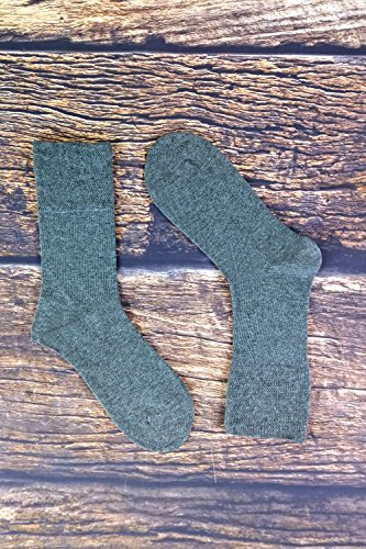 Severyn Calcetines sin el/ástico suaves hombre//caballero Aptos para diab/éticos Paquete de 6 pares de calcetines