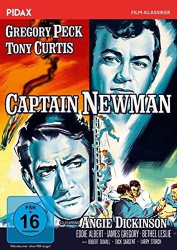 Captain Newman / Bestsellerverfilmung mit Gregory Peck, Tony Curtis und Robert Duvall (Pidax Film-Klassiker)