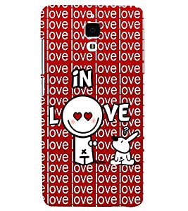 printtech In Love Back Case Cover for Xiaomi Redmi Mi4::Xiaomi Mi 4