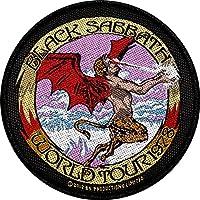 Black Sabbath Logo World Tour '78Patch Tessuto 9,5cm
