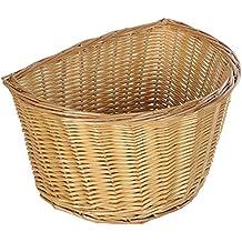 Oxford D forma cesta de mimbre, Unisex, D Shape, natural