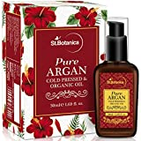#4: StBotanica Organic Pure Argan Oil, 50ml (For Hair & Skin) - USDA Certified Ingredient Imported from Morocco
