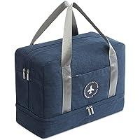 FANDARE Sporttasche Reisetasche Handgepäck Weekender für Damen/Herren mit Schuhfach 24 L Handgepäck für Übernachtung…