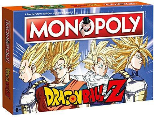 MONOPOLY Dragonball Z Edition für Fans! Die Saga rund um Son Goku, Trunks, Vegeta und Son Gohan! | Gesellschaftsspiel | Familienspiel | Brettspielklassiker | (City Monopoly Spiel)