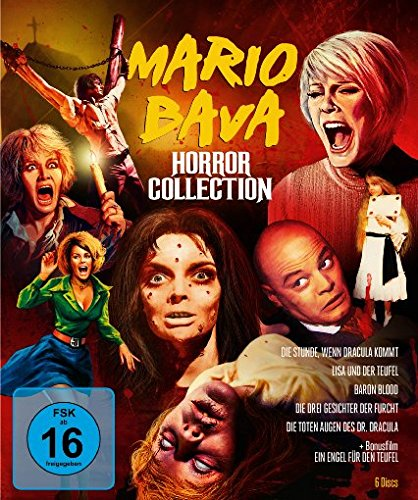Mario Bava Horror Collection - Limitiert (+ DVD) [Blu-ray]