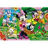 Clementoni 23636.7 - Puzzle Maxi, Minnie's Garten, 104 Teile