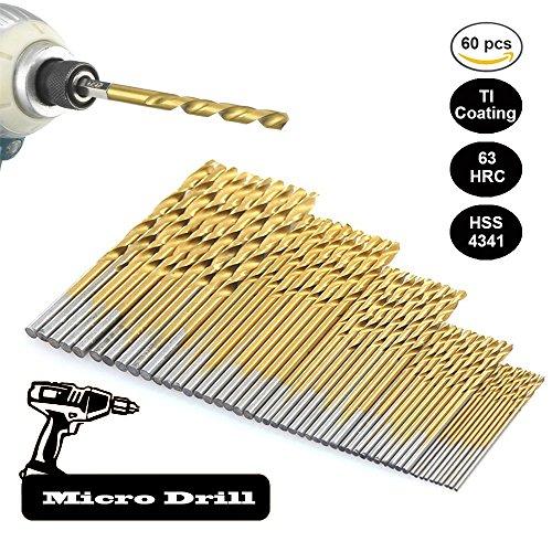 50 STÜCKE 1 / 1,5 / 2 / 2,5 / 3mm HSS Schaft Bohrer Set Werkzeuge Titan Für Holz Kunststoff und Aluminium Kupfer stahl (Gusseisen-werkzeug-set)