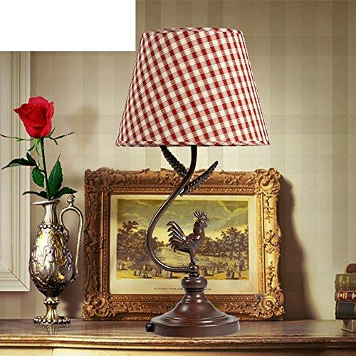 Candy Leuchtet/Östliches Mittelmeer Schreibtischlampe/Eisernen Lampe/Schlafzimmer Lights/Pastorale Studie Lampe/Kreative Lampe-C (Leuchtet Candy)
