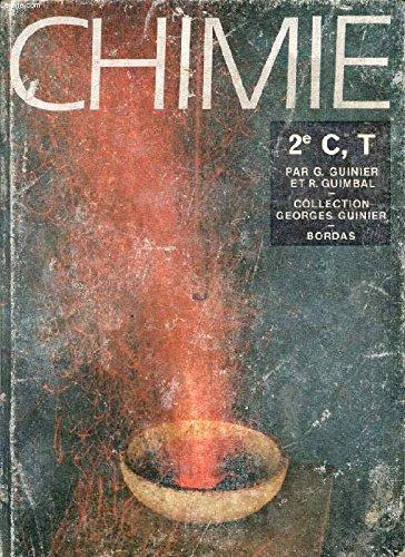 CHIMIE, CLASSE DE 2de C, T